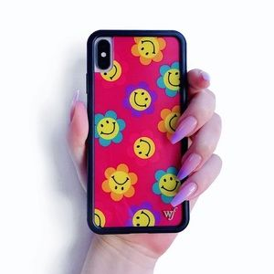 Wildflower smiley flowers iPhone 11 Pro case